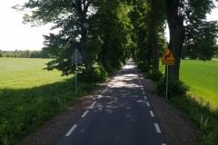 mit Seitenstreifen - keine Einbahnstraße!
