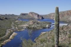 Stausee auf dem Apache Trail