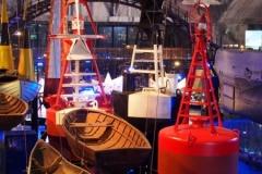 im maritimen Museum