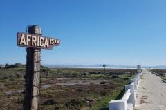 15 km nach Afrika