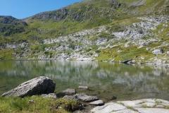 See auf dem Hochplateau über der Trollkirche