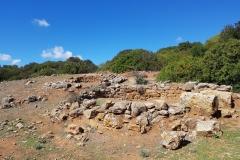 Reste einer Nuraghiersiedlung (2. Jh. v. Chr)